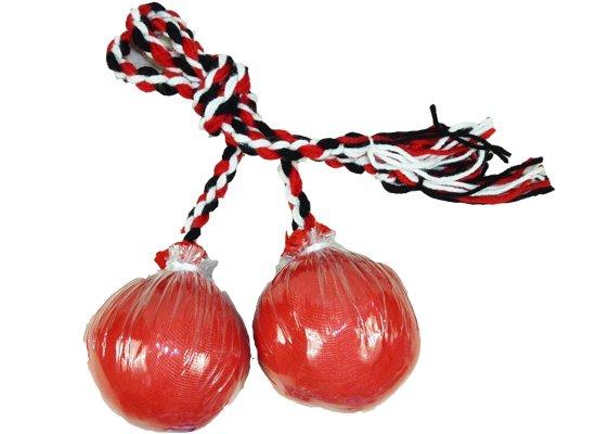 ポイボール赤 2球1組poiball-r