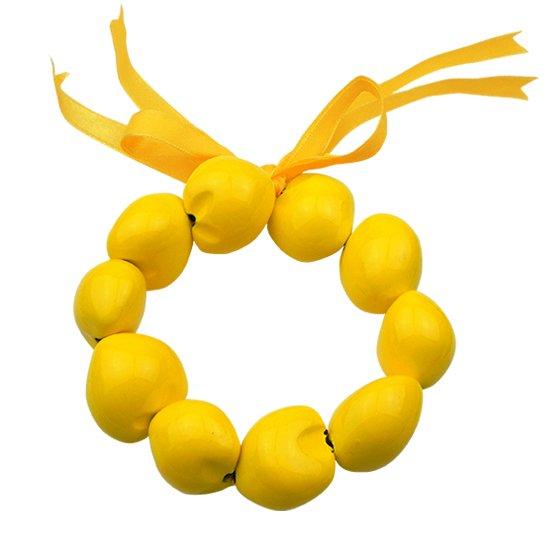 ククイブレスレット 黄色 kub-yellow クウペエ 手首 足首 【std】