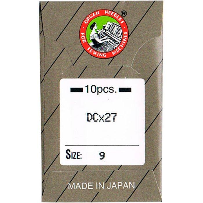 工業用ミシン針 オルガン針社製 DC×27 サイズ #9 10本入り 【メール便可】