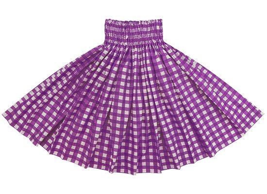 紫のパウスカート パラカ柄 spau-2028PP