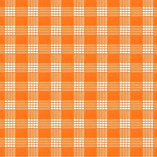 オレンジのファブリック パラカ柄 fab-2028OR 【4yまでメール便可】
