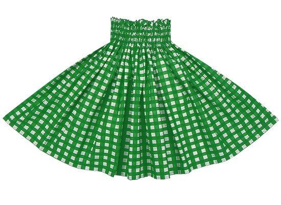 緑のパウスカート パラカ柄 spau-2028GN
