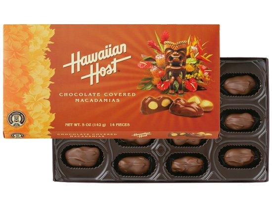 マカデミアナッツチョコレート トロピカル 5oz(14粒)【ハワイアンホースト】
