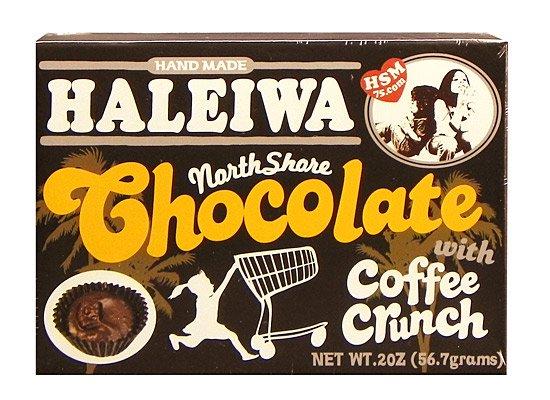 コーヒークランチチョコレート(6粒)【HALEIWA】