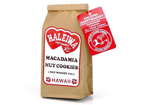 マカデミアナッツクッキー3oz【HALEIWA】