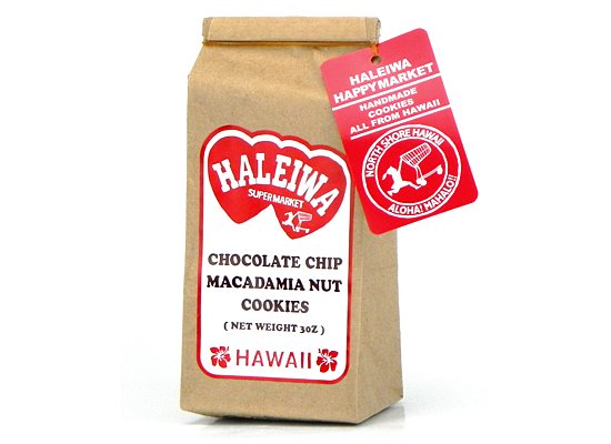 チョコレートチップマカデミアナッツクッキー3oz【HALEIWA】