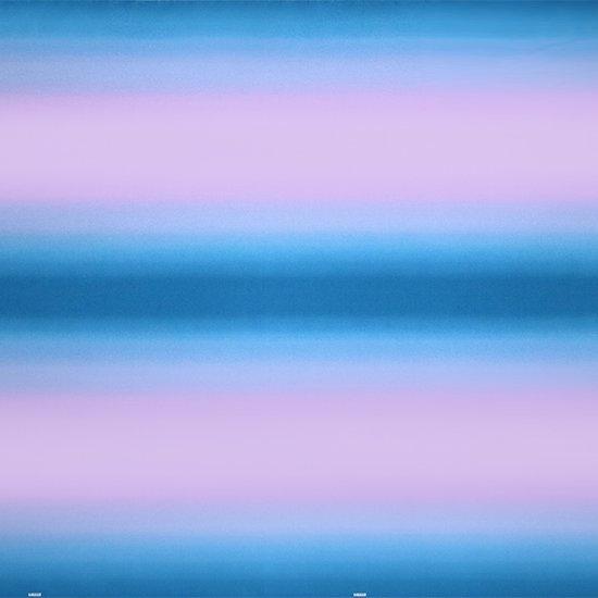 紫と水色のファブリック グラデーション柄 fab-2270PPAQ 【4yまでメール便可】