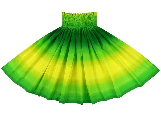 黄色と緑のパウスカート グラデーション柄 spau-2270YWGN-tp