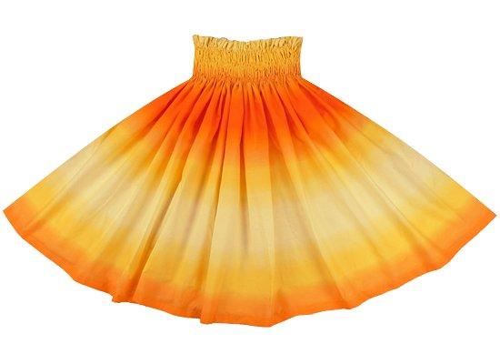 黄色とオレンジのパウスカート グラデーション柄 spau-2270YWOR-tp