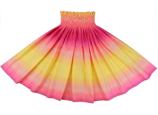 黄色とピンクのパウスカート グラデーション柄 spau-2270YWPi-tp