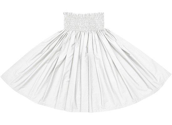 ホワイトの無地パウスカート spau-sld-white