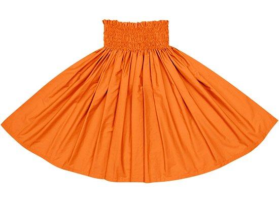 ビビッドオレンジの無地パウスカート spausld-vividorange-c142
