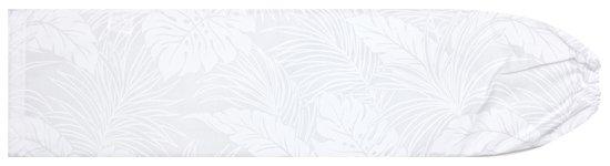 白のパウスカートケース モンステラ柄 pcase-2022WHWH 【メール便可】★オーダーメイド