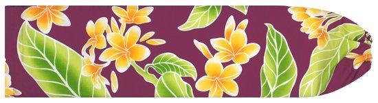 紫のパウスカートケース  プルメリア総柄 pcase-2405PP 【メール便可】★オーダーメイド