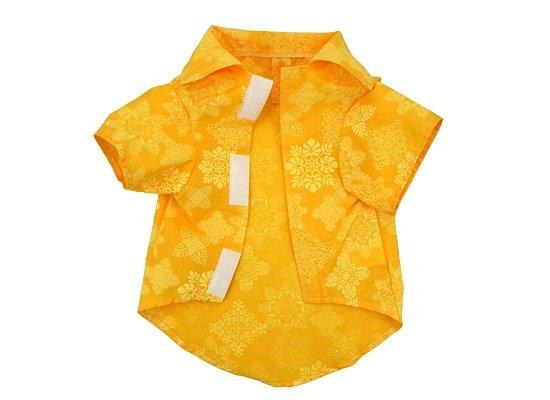 【ワンちゃんアロハ】 Paloha_KL2010YW キルト柄 黄色 Mサイズ