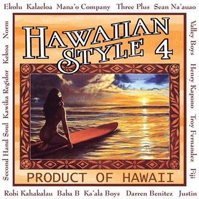 【CD】 Hawaiian style 4 / V.A. 【メール便可】 cdvd-cd