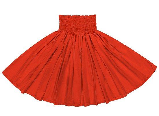 赤のコットンパウスカート (綿100%) spau-ctc7500-146