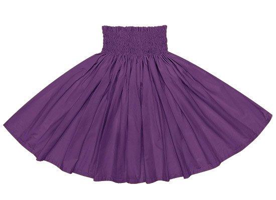 紫のコットンパウスカート(綿100%) spau-ctc7500-271