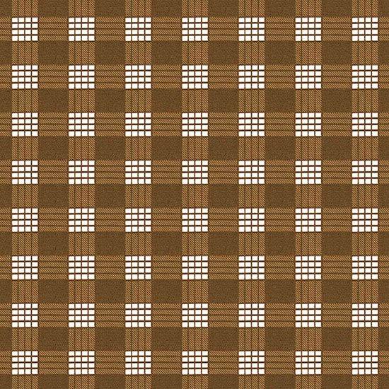 茶色のハワイアンファブリック パラカ柄 fab-2028BR 【4yまでメール便可】