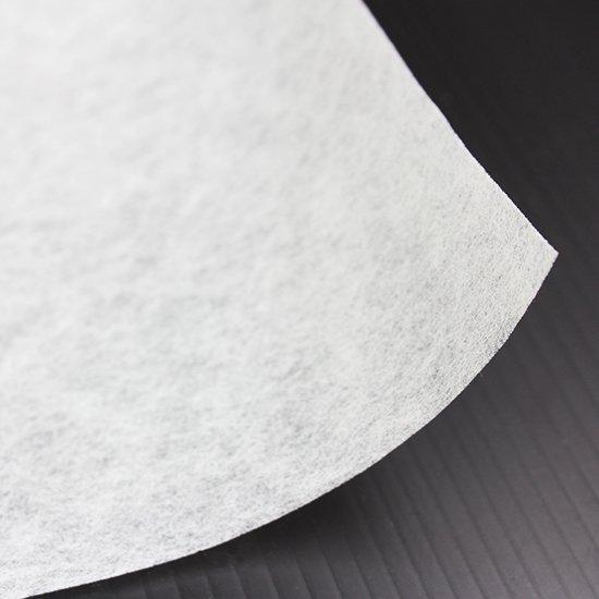 ペローン 不織布 白 10604 厚さ 0.43mm ハワイアンカパ用 (衣装やオヘカパラに)