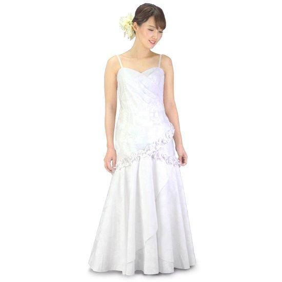 マーメイド ウエディングドレス パニエ付き wdrs-45002ds 【オーダーメイド】