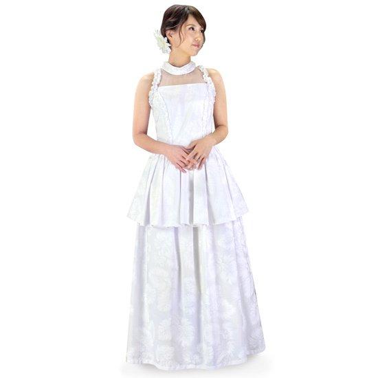 Aライン ウエディングドレス パニエ付き wdrs-45005ds 【オーダーメイド】