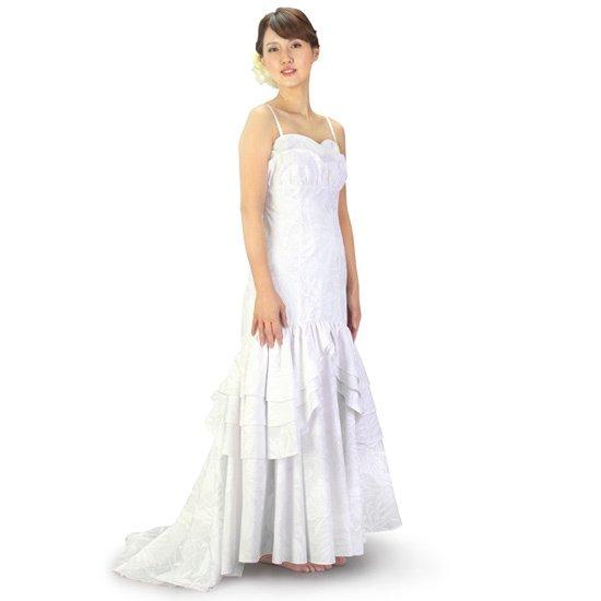 マーメイド ウエディングドレス パニエ付き wdrs-45006ds 【オーダーメイド】