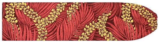 赤のパウスカートケース チューベローズ・ヤシ柄 2503RD 【メール便可】★オーダーメイド