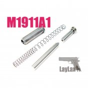 【LayLax/ライラクス】マルイ M1911A1 リコイルスプリングガイド&リコイルスプリングセット