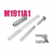 【LayLax/ライラクス】マルイ M1911A1・M45A1リコイルスプリングガイド&リコイルスプリングセット