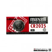 【maxell】CR2025リチウムボタン電池