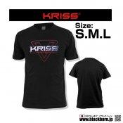 【LayLax】KRISS オフィシャル ロゴTシャツ KRISS Logo T-Shirt Sサイズ
