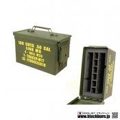 【TANGO】アンモボックス 金属製 弾薬箱タイプ 収納ボックス【50】