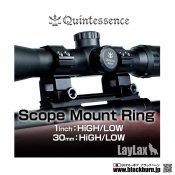 【LayLax/ライラクス】Quintes sence マウントリング2個セット 30mm LOW