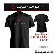 【LayLax】WAR SPORT(ウォースポート) CHEST LOGO T-SHIRT BK M