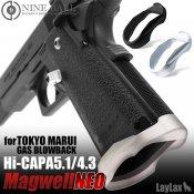 【LayLax】東京マルイ ガスブローバック Hi-CAPA5.1/4.3 マグウェルNEO シルバー