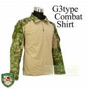 CRYE タイプ G3 コンバット シャツ 自衛隊 迷彩2型