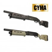 【CYMA】M870 M-Style ショート スポーツラインショットガン DE