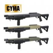 【CYMA】べネリM3 KEYMOD M-STOCK フルメタルショットガン Grey