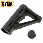 【CYMA】M-STYLE CTRタイプ ストック Black