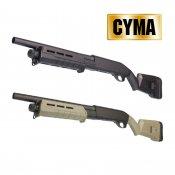 【CYMA】M870 M-Style ショートフルメタルショットガン BK