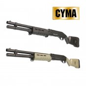 【CYMA】M870 M-Style ロング スポーツラインショットガン DE