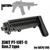 【UFC】ZENIT PT-1(ПТ-1) Gen.2タイプAKストック Black