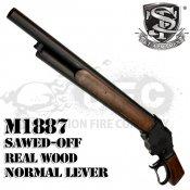 【S&T】ウィンチェスター M1887 ガスショットガン ソードオフ リアルウッド