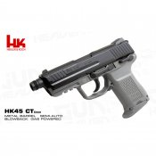 【UMAREX】HK45 Compact Tactical ガスブローバックピストル GREY