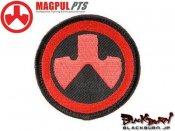 【MAGPUL/マグプル】マグプルロゴパッチ (Red&Black)
