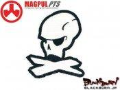 【MAGPUL/マグプル】マグプルロゴパッチ 10th Anniversary (White)