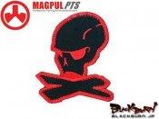 【MAGPUL/マグプル】マグプルロゴパッチ 10th Anniversary(Red&Black)