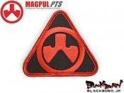 【MAGPUL/マグプル】マグプルロゴパッチ DYNAMICS (Red&Black)