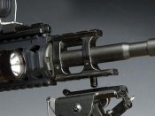 【フリーダムアート】M4フロントマウントベースDX ブラック